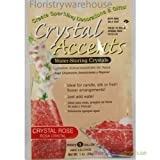 FloristryWarehouse Crystal Accents Wasserpeicher-Gel Kristallrosa / Rosa