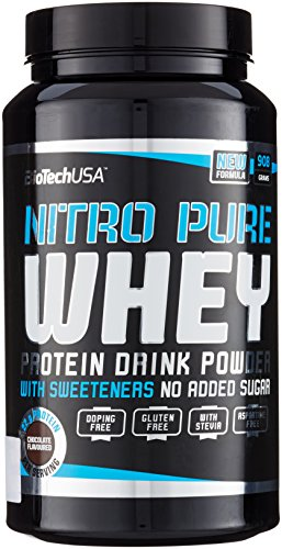Biotech USA Nitro Pure Whey Schokolade, 1er Pack (1 x 908 g) -