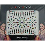 Bindis 95 Stück Stirnschmuck Kärtchen Karte selbstklebend Bollywood Schmuck Indien Hinduismus