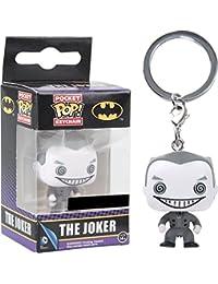 Funko - Porte Clé DC Heroes - Joker B&W Exclu Pocket Pop 4cm - 0849803090692