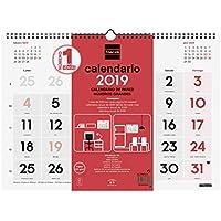 Finocam 780010019 - Calendario de pared 2019