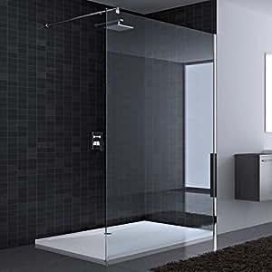 Paroi de douche pare douche verre de s curit douche l 39 italienne bremen - Pare douche italienne ...