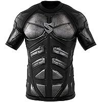 SMMASH Rashguard Dark Knight Kurzarm MMA BJJ UFC Kampfsport
