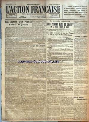 ACTION FRANCAISE (L') [No 250] du 07/09/1918 -...