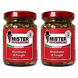 Bruschetta di Funghi (95gr x2) - Mister Peperoncino