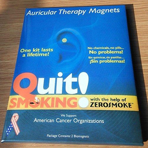 Quit Smoking New Zerosmoke Magnet-Ohrstecker rauchfrei, leicht zu rauchen.