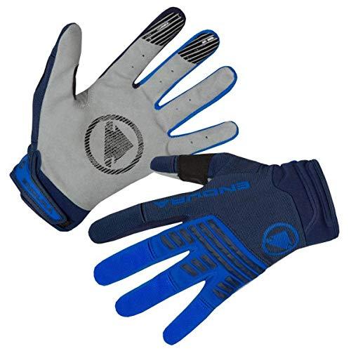 ENDURA - SingleTrack Handschuh - Gloves Size L, Blue/Grey