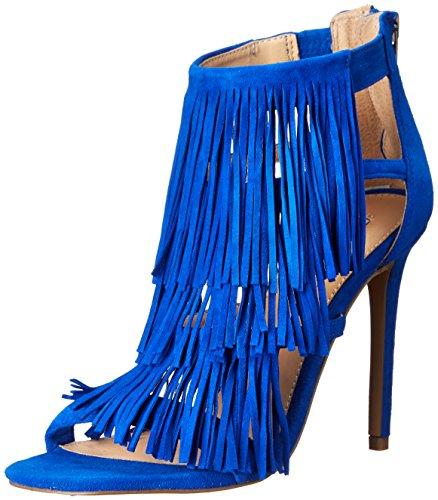 Steve Madden FRINGLY, Sandali donna Blue Suede