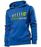 love-all-my-shirts - Felpa con cappuccio - Maniche lunghe  - Donna blu/verde L