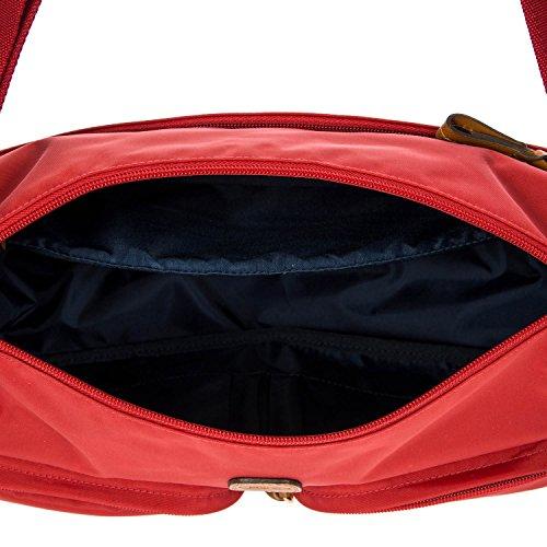 Sitios Web En Línea Brics X-Bag Borsa a tracolla 33 cm Rosso Toma De La Cantidad De eqODjb