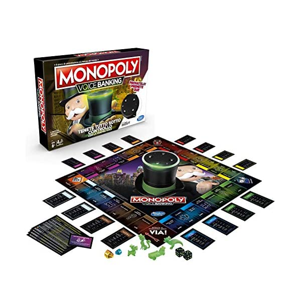 Hasbro Monopoly - Voice Banking (Gioco in Scatola Elettronico) 3 spesavip