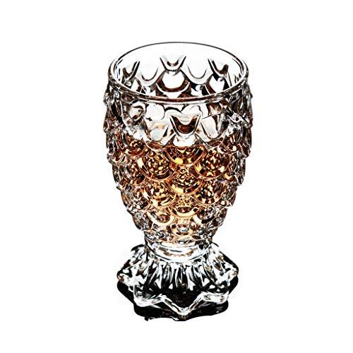 Coupe en verre créatif Sirène forme personnalité tasse de bière tasse de jus de fruits tasse boire tasse JXLBB