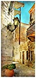 posterdepot puerta Póster para puerta callejón en el sur, vacaciones en Grecia-93x 205cm,-, ktt0146