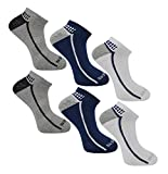 Skechers Mens Trainers Liner socks (Asst 6 Pairs)