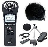 Zoom H1n Handy Recorder + APH1n Zubehör + Keepdrum Windschutz