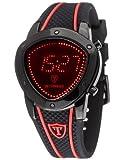 Detomaso Herren-Armbanduhr COMPASSO LED Schwarz Trend Digita...