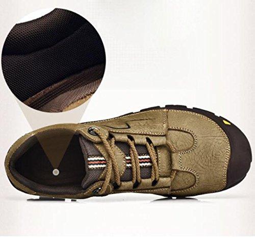 Autunno E Inverno Scarpe Da Uomo Outdoor Resistente All'usura Alpinismo Scarpe Sportive Scarpe Da Corsa Scarpe Da Uomo Blue