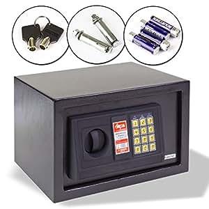 Coffre-fort numérique 12 l. (l x p x h) :  31 x 20 x 20 cm