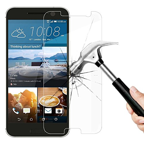 Panzerglas Glasfolie HTC 10 Echt Glas Schutzfolie - 9H Hartglas Vada-Tec Original
