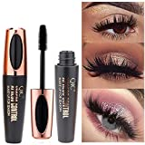 Cooljun 4D Mascara Noir-Extension Mascara Waterproof-Maquillage Cils Curling-Longue Cils
