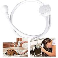 Youngnet Single Tap Bath Sink Shower Head Hose Spray Hair Dresser Pet Push On Mixer 1 - 1.2m