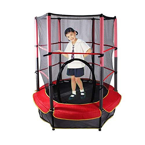 SXTYRL Trampoline füR Kinder, Mini Kleinkind Trampolin Fitness Jumper Erwachsene Kinder Outdoor-Sicherheitsspringen Gepolstert Garten Pub Camping Barbecue Grill Große Spielzeug, Red - Fitness-bar Maximale