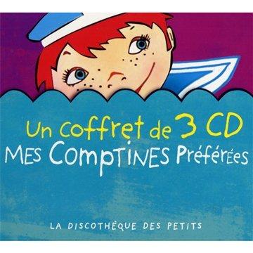Mes Comptines Préférées (Coffret 3 CD )