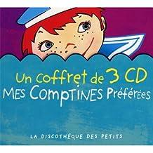 Coffret 3 CD : Mes Comptines Preferees