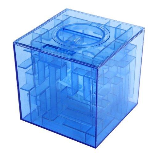 Uteruik - Hucha Monedas Forma Laberinto 3D, Caja Regalo