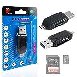 USB 2.0+ Micro USB SD/microSD OTG-Kartenleser für Das Motorola Moto G 3. Generation/Motorola Moto E 2Nd Generation–von DURAGADGET