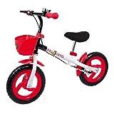 Legler Bicicletta Senza Pedali Diavolo Rosso