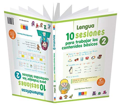10 sesiones para trabajar los contenidos básicos. Cuaderno 2 por José Martínez Romero