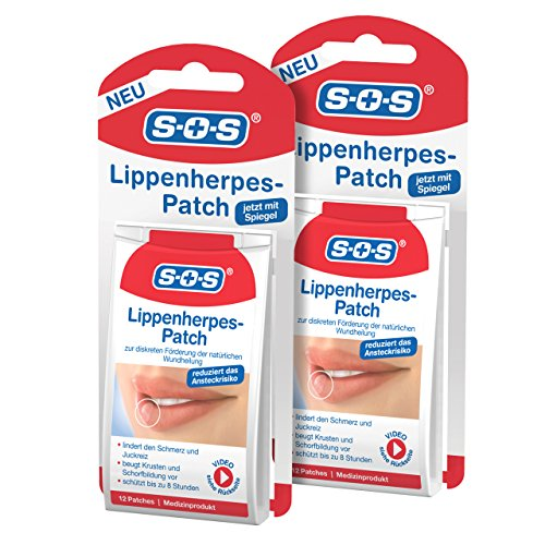 SOS Lippenherpes-Patch (2er Pack) -