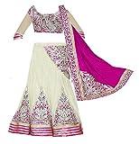 Super Deal Girl's Net Lehenga Choli (SD_...
