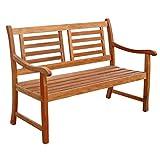 Indoba 2-Sitzer Flair-Serie Sun Flair-IND-70033-GB2 Gartenbank, Natur