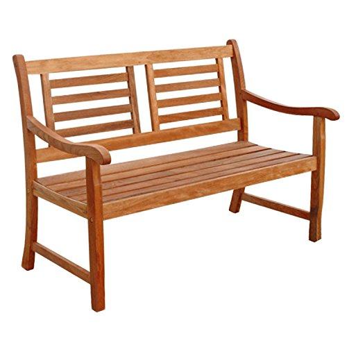 Indoba 2-Sitzer Flair-Serie Sun Flair-IND-70033-GB2 Gartenbank Natur