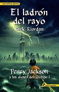 El ladrón del rayo par Rick Riordan