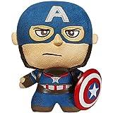 Funko - Peluche Marvel Avengers - Capitán América 15cm fabricación - 0849803050764 - Peluche Los Vengadores Capitán América (15cm)