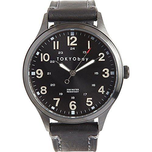 tokyobay-t227-bk-herren-edelstahl-mason-schwarzes-lederband-schwarzes-zifferblatt-watch