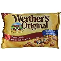 Werther'S Original - Caramelos clásicos de nata - Sin azúcar - 1000 g