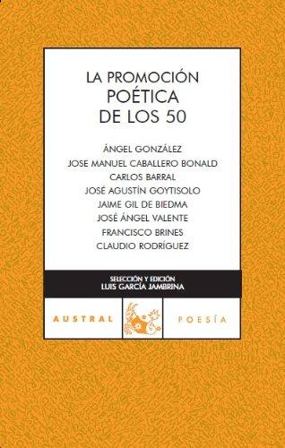 Promoción poética de los 50 (Contemporánea) por Artistas varios
