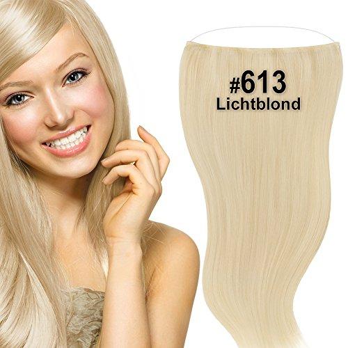 Flip Extensions,Halo Hair,Haarverlängerung,50cm, (Perücken Halo)