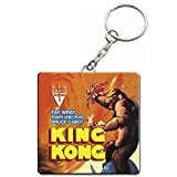 Official King Kong Original Film Poster Keyring