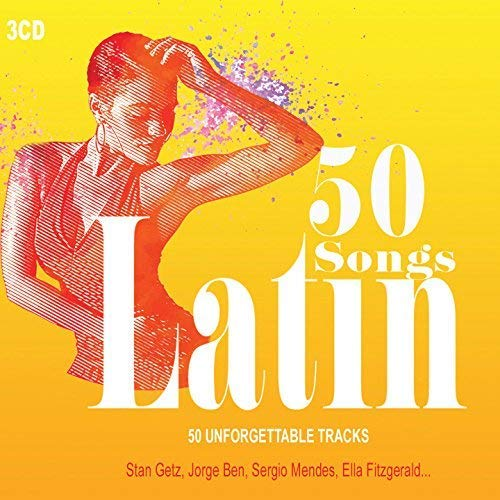 3CD 50 Songs Latin, Latin Jazz, Bossa Nova, Latin party, Musica Latina, Sten Getz, Salsaloco De Cuba, Ella Fitzgerald, Samba, Lambada (Latina-cd Musica)