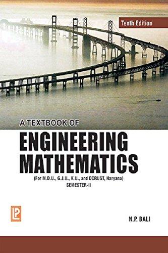 A Textbook of Engineering Mathematics - Sem II