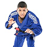 Other Combat Sport Supplies Tatami Bjj Gi Estilo 6.0 Blanco Negro Premier Jiu-jitsu Brasileño Uniforme