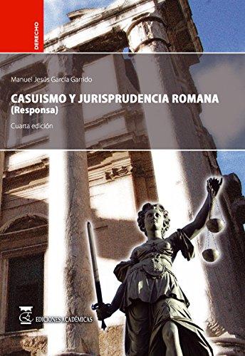 CASUISMO JURISPRUDENCIA ROMANA RESPONSA