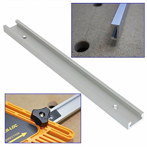 Doradus 12-Zoll-300mm T-Tracks T-Nut Gehrung Spur Jig Fixture Slot für Router Tabelle (Slot Tabelle)