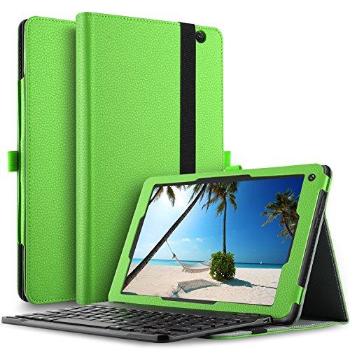 dragon touch x10 tablet IVSO Dragon Touch X10 Tastiera Custodia Portfolio (QWERTY Layout)