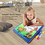 Lorenlli Kinder-Wasser-Zeichnungs-Buch-Gekritzel, magisches Design-Malerei-Buch-frühe Aufklärung, die Zeichnungs-Bildungs-Spielwaren lernt